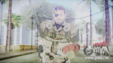 MGSV Phantom Pain Snake Scarf Olive Drab pour GTA San Andreas