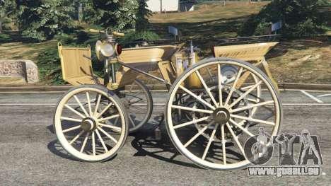 GTA 5 Daimler 1886 [wood] linke Seitenansicht