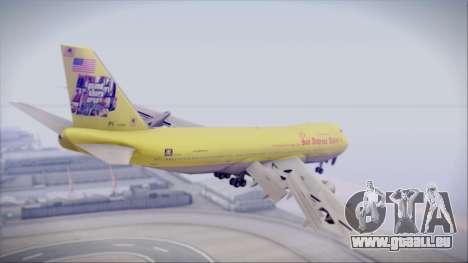 Boeing 747-200 GTA SA Airline für GTA San Andreas linke Ansicht