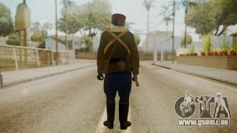 Red Army Cossack - WW2 pour GTA San Andreas troisième écran