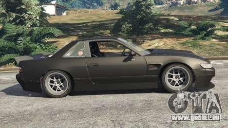 Nissan Silvia S13 v1.2 [without livery] für GTA 5