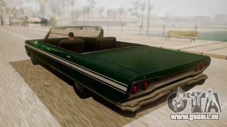 Savanna FnF Skin pour GTA San Andreas laissé vue