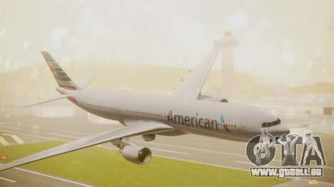 Airbus A330-300 American Airlines pour GTA San Andreas