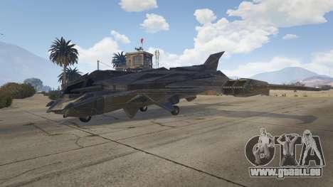 GTA 5 Batwing deuxième capture d'écran