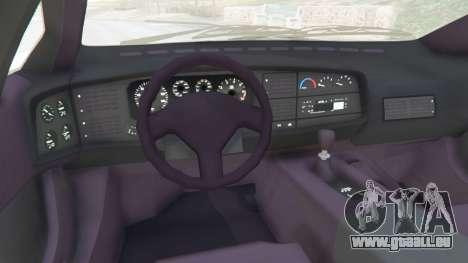GTA 5 Jaguar XJ220 v1.0 rechte Seitenansicht