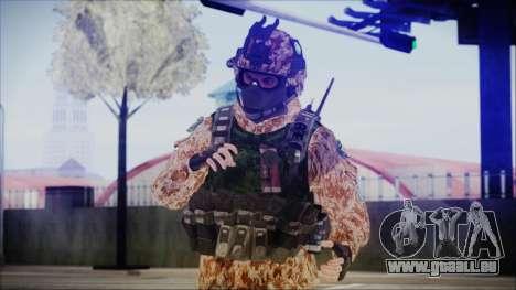 MW2 Russian Airborne Troop Desert Camo v4 für GTA San Andreas