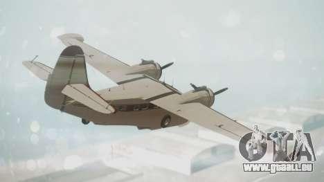 Grumman G-21 Goose VHIRM pour GTA San Andreas laissé vue