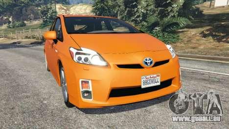 Toyota Prius v1.5 für GTA 5