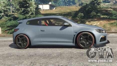 GTA 5 Volkswagen Scirocco linke Seitenansicht