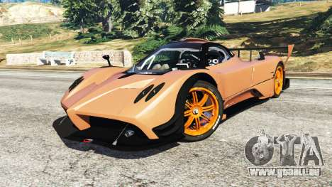 GTA 5 Pagani Zonda R v0.9 hinten rechts