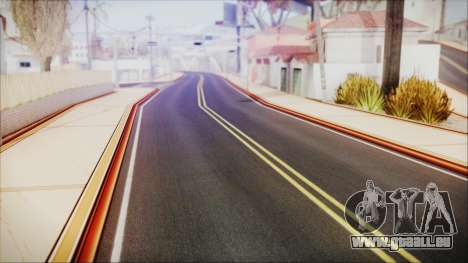HD All City Roads pour GTA San Andreas