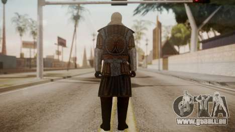 Boyar Knight - 17th Century pour GTA San Andreas troisième écran