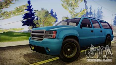 GTA 5 Declasse Granger FIB SUV IVF für GTA San Andreas