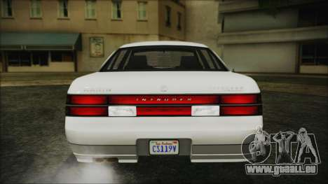 GTA 5 Karin Intruder IVF für GTA San Andreas Innenansicht