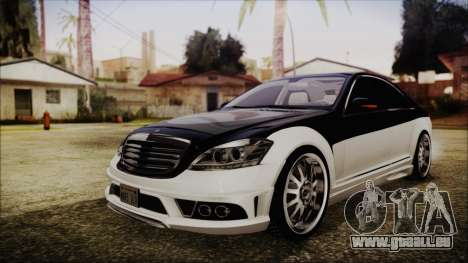 Carlsson Aigner CK65 RS v2 Headlights pour GTA San Andreas