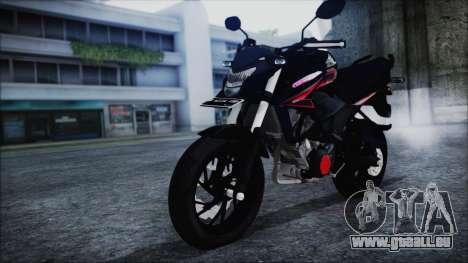 Honda CB150R Black pour GTA San Andreas