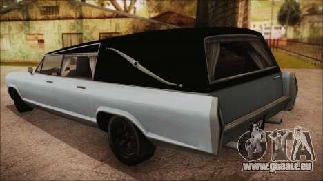 GTA 5 Albany Lurcher Bobble Version pour GTA San Andreas laissé vue