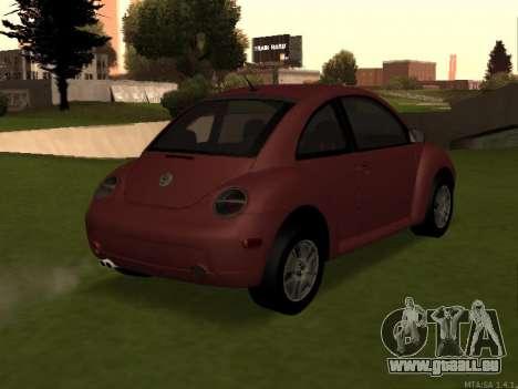 VW New Beetle 2004 Tunable für GTA San Andreas linke Ansicht
