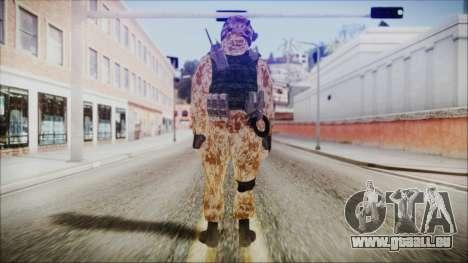 MW2 Russian Airborne Troop Desert Camo v4 für GTA San Andreas dritten Screenshot