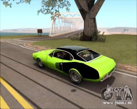 Clover Barracuda für GTA San Andreas linke Ansicht