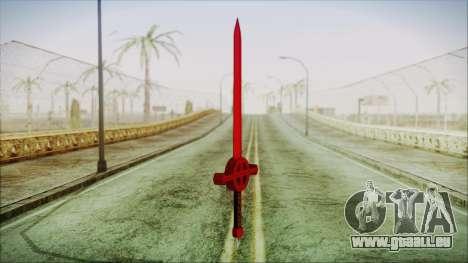 Demon Blood Sword from Adventure Time pour GTA San Andreas deuxième écran