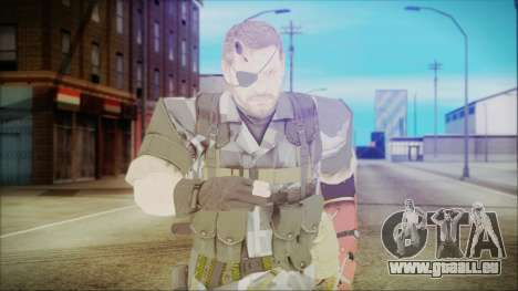 MGSV Phantom Pain Snake Normal Square pour GTA San Andreas