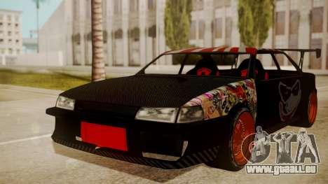 Sultan Full of Stickers für GTA San Andreas