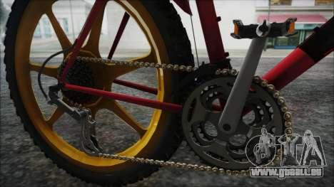 Mtbike HD pour GTA San Andreas vue arrière