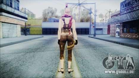 Mila Short Hair from Counter Strike pour GTA San Andreas troisième écran