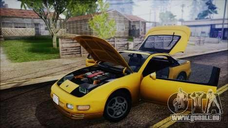 Nissan Fairlady Z Twinturbo 1993 pour GTA San Andreas vue de côté