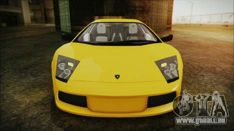 Lamborghini Murcielago 2005 Yuno Gasai IVF pour GTA San Andreas vue de côté