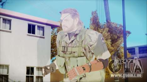 MGSV Phantom Pain Snake Normal Woodland pour GTA San Andreas