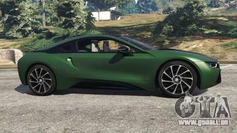 GTA 5 BMW i8 2015 vue latérale gauche