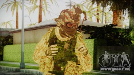 MW2 Russian Airborne Troop Desert Camo v3 pour GTA San Andreas