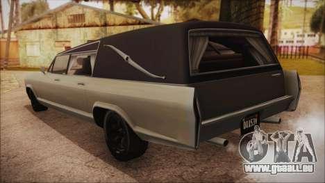 GTA 5 Albany Lurcher Bobble Version IVF pour GTA San Andreas laissé vue
