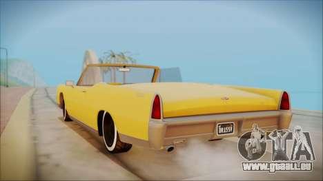 GTA 5 Vapid Chino Bobble Version pour GTA San Andreas laissé vue