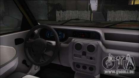 Dacia Solenza pour GTA San Andreas vue de droite