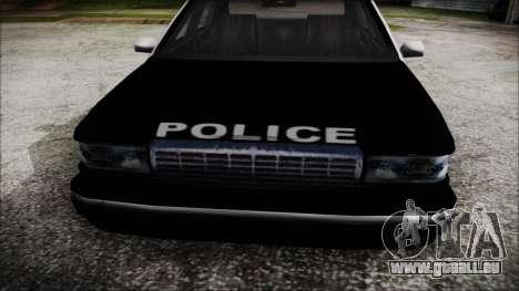 Beta SFPD Cruiser für GTA San Andreas rechten Ansicht