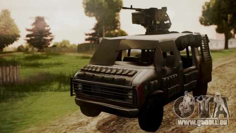 BF3 Rhino für GTA San Andreas rechten Ansicht