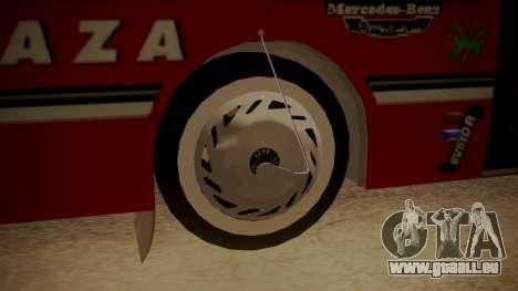 Mercedes-Benz OH-1315 für GTA San Andreas zurück linke Ansicht