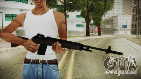 H&R Arms M14 pour GTA San Andreas troisième écran