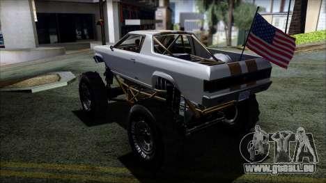 GTA 5 Cheval Marshall pour GTA San Andreas laissé vue