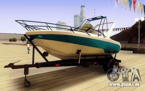 GTA V Boat Trailer für GTA San Andreas