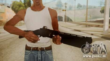 CQC-11 Combat Shotgun für GTA San Andreas dritten Screenshot