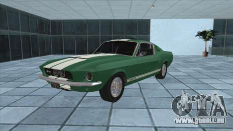Ford Mustang Shelby GT500 1967 pour GTA San Andreas