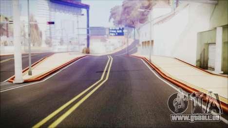 HD All City Roads pour GTA San Andreas deuxième écran
