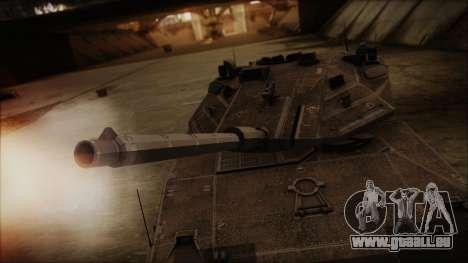 M2A1 Slammer Tank pour GTA San Andreas vue de droite