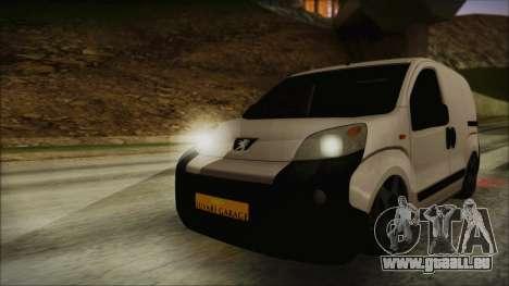 Peugeot Bipper pour GTA San Andreas