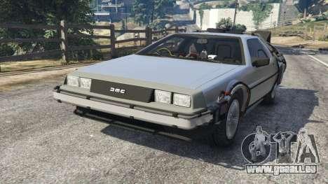 DeLorean DMC-12 Back To The Future v1.0 für GTA 5