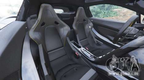 GTA 5 McLaren P1 2014 v1.5 rechte Seitenansicht